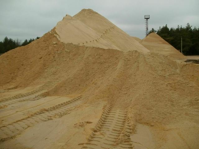 Песок строительный с доставкой 5м3(ЗИЛ), 10м3(КАМАЗ)
