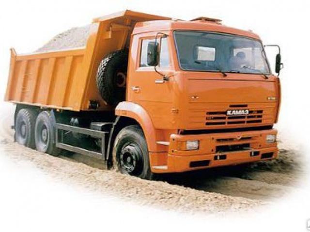 Песок крупнозернистый 0-8 мм 10м3 КАМАЗ