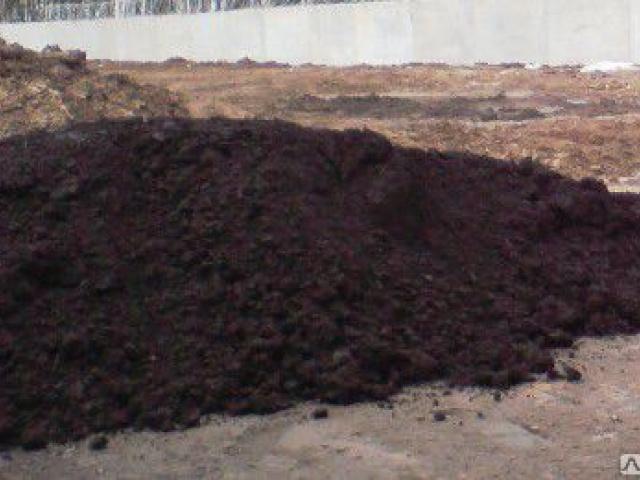 Грунт Камаз 10 м3, земля черного цвета